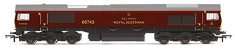 Class 66 743 GBRf/Royal Scotsman Livery Diesel Locomotive