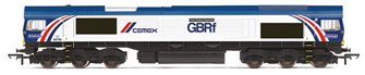"Class 66 780 ""The Cemex Express"" GBRf/Cemex Livery Diesel Locomotive"