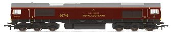 Class 66 746 GBRf/Royal Scotsman Livery Diesel Locomotive