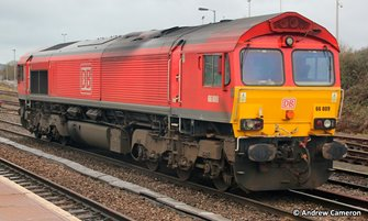 Class 66 009 DB Cargo Red Diesel Locomotive