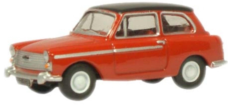 Agate Red Black Austin A40