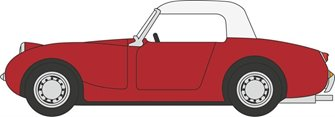 Austin Healey Frogeye Sprite Cherry Red