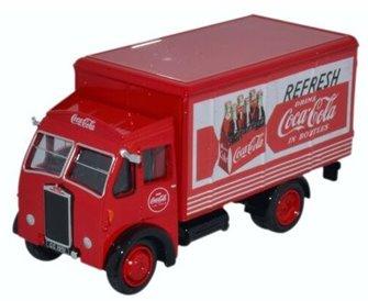 Albion Box Van Coca Cola