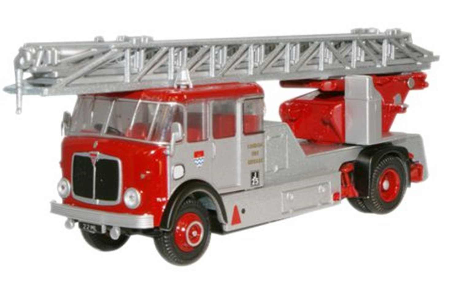 London Fire Brigade AEC Mercury TL