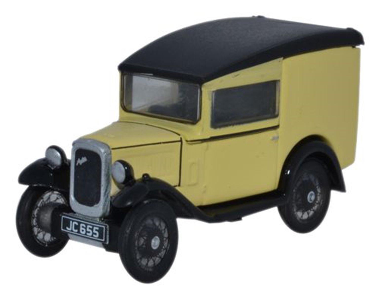 Austin Seven RN Van in Primrose