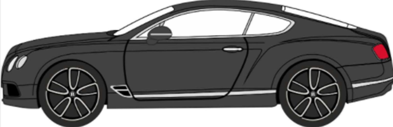 Bentley Continental GT Onyx Black