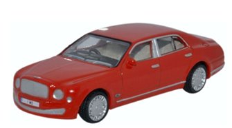 Bentley Mulsanne St James Red