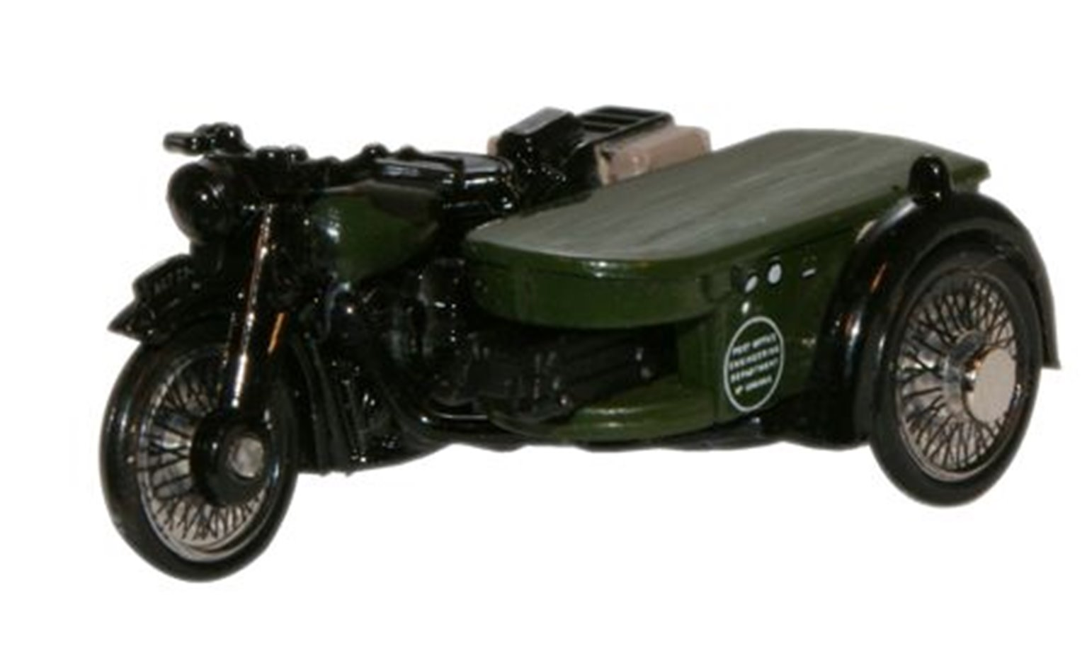 Post Office Telephones BSA Motorcycle & Sidecar