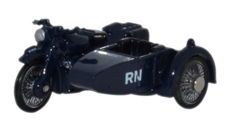 Motorbike/Sidecar Royal Navy