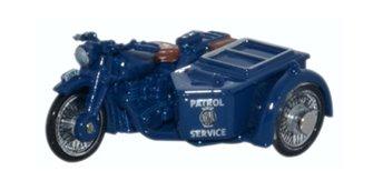BSA Motorcycle/Sidecar NRMA