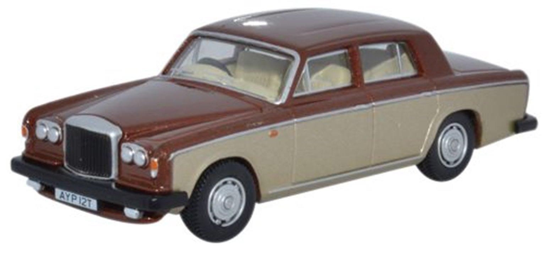 Bentley T2 Saloon Nutmeg Silver Sand