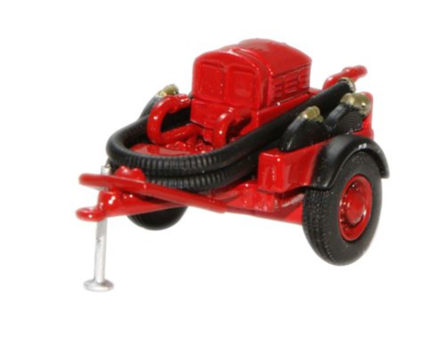 Red Coventry Climax Pump Trailer