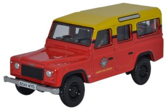 Land Rover Defender Station Wagon - London Fire Brigad