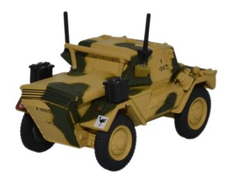 Dingo Scout Car 50th RTR 23rd Armoured Brigade Tunisia