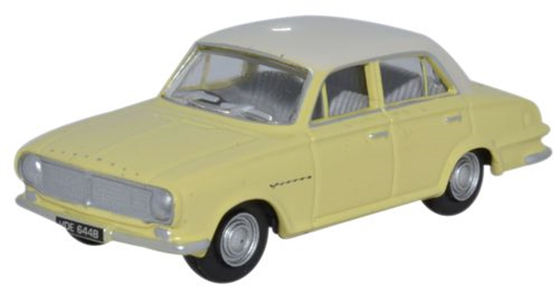 Vauxhall FB Victor Alaska White/Primrose