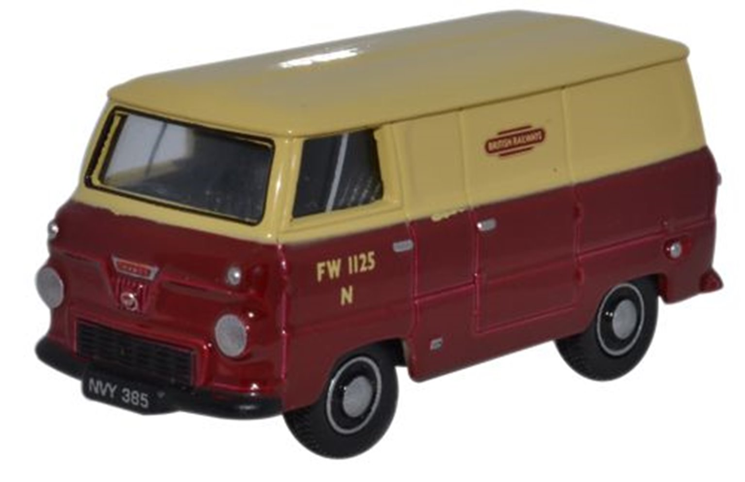 Ford 400E Van British Rail