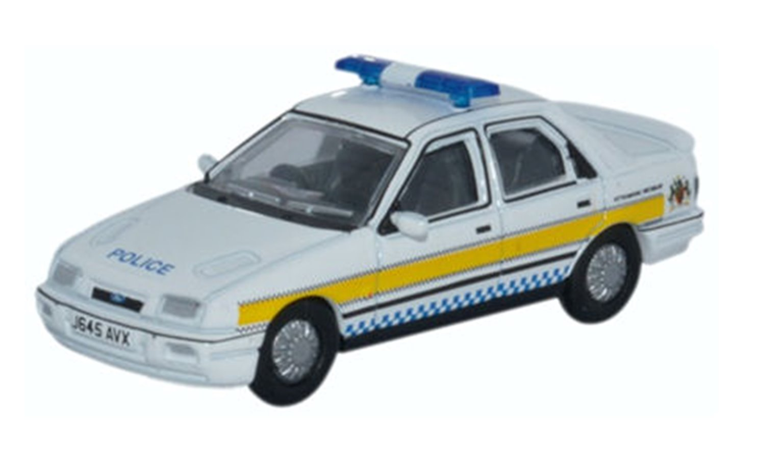 Ford Sierra Sapphire Nottinghamshire Police
