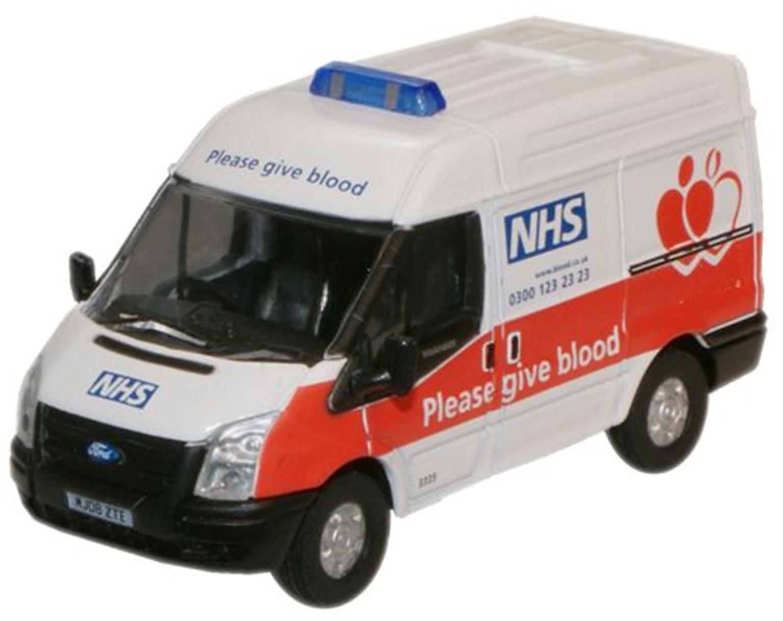 NHS Blood Donor Van Ford Transit SWB Med
