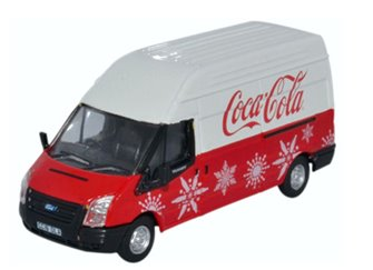 Ford Transit MK5 LWB High Coca Cola Xmas