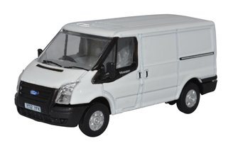 Ford Transit Mk 5 SWB Low Roof Frozen White