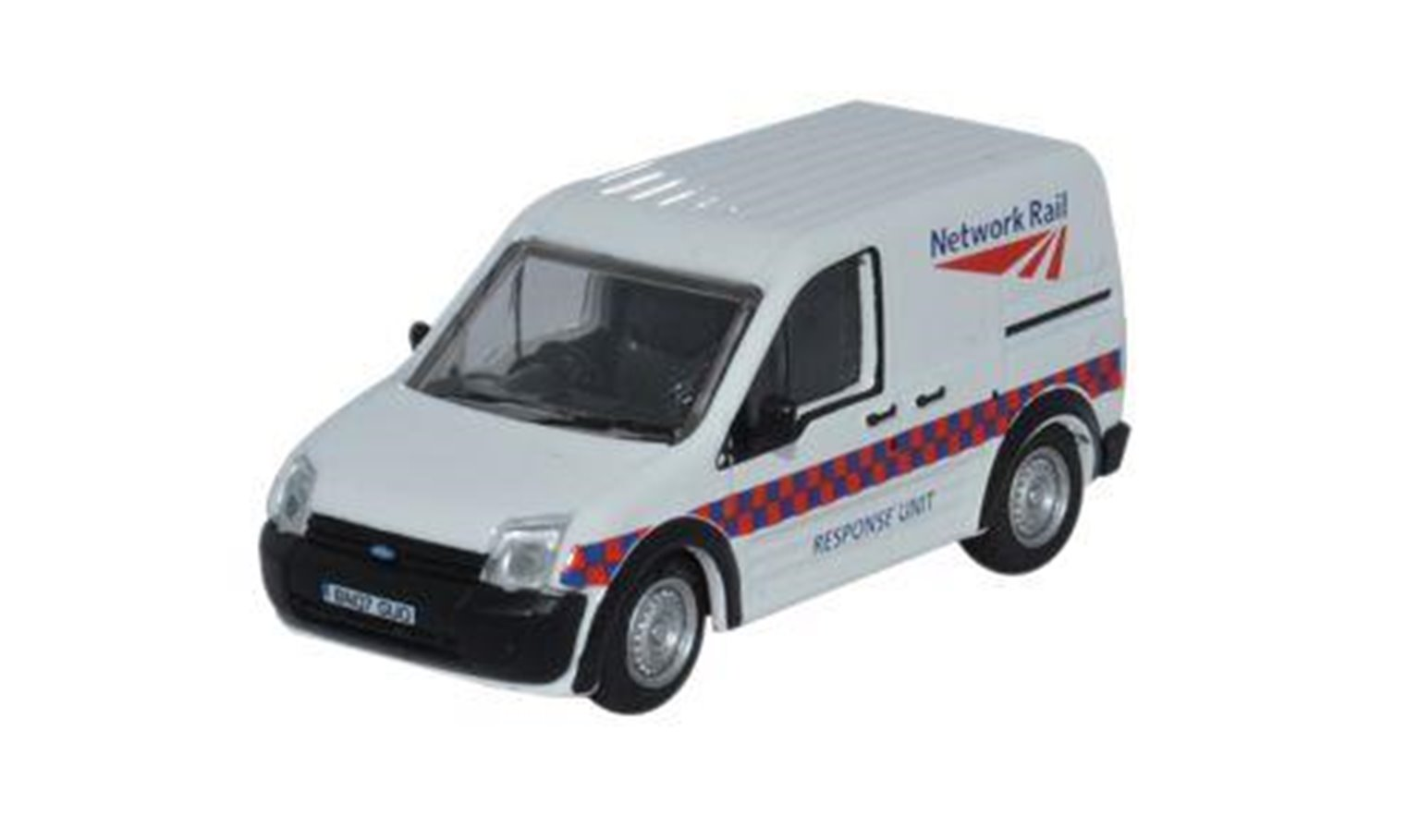 Oxford Diecast 76FTC002 Ford Transit Connect Network Rail
