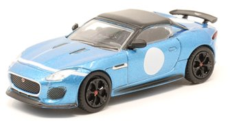76JFT002 Jaguar F Type Project 7 Ultra Blue