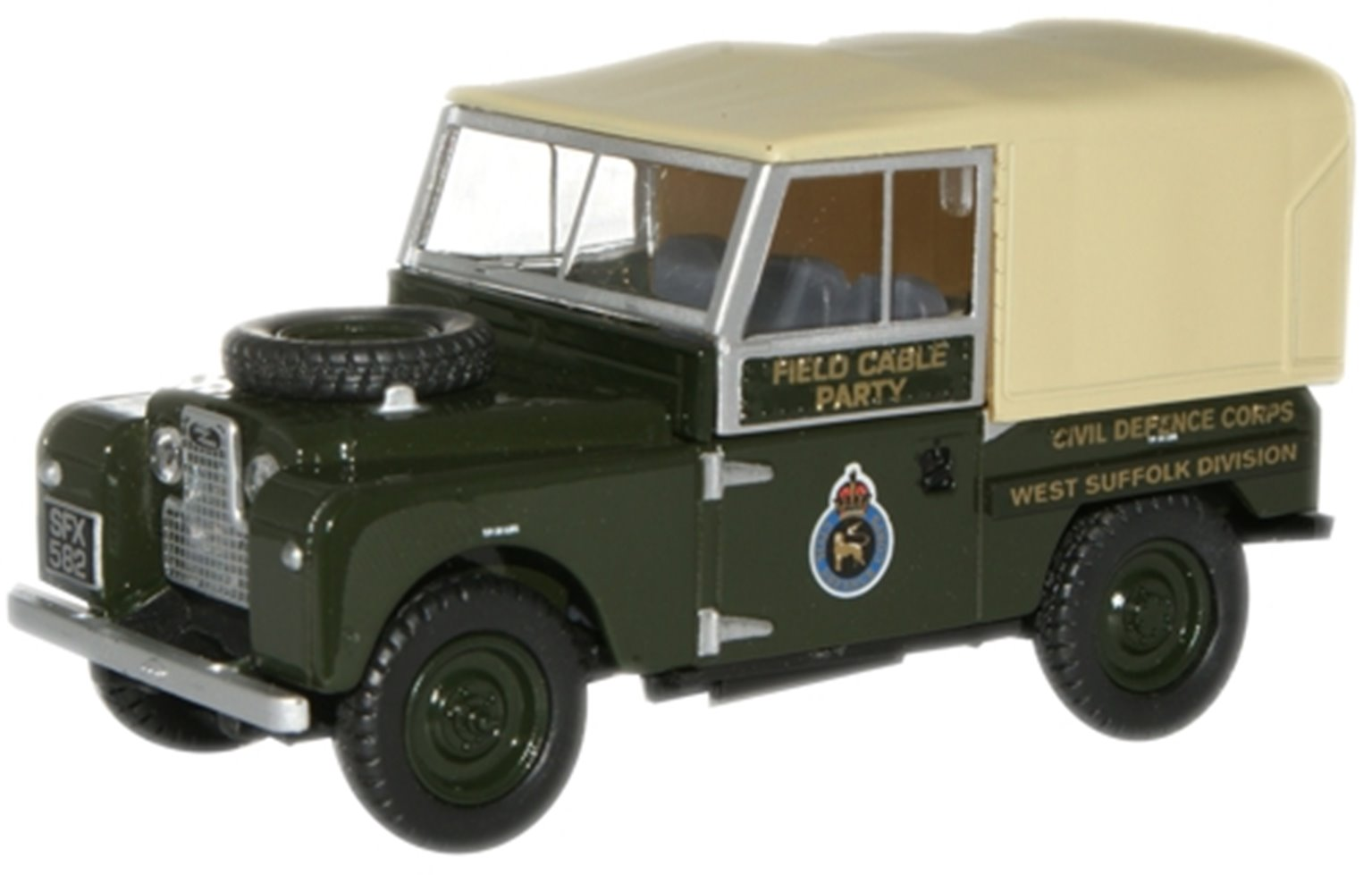 Land Rover Civil Defence Corps