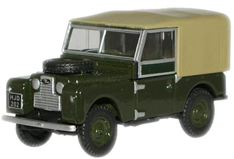Bronze Green Land Rover 88'' Canvas