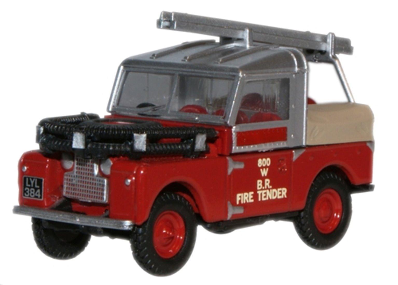 British Rail Land Rover 88 Fire Tender