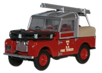 British Rail Land Rover 88 Fire Tender