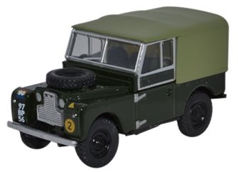 "Land Rover Series 1 88"" Canvas REM"