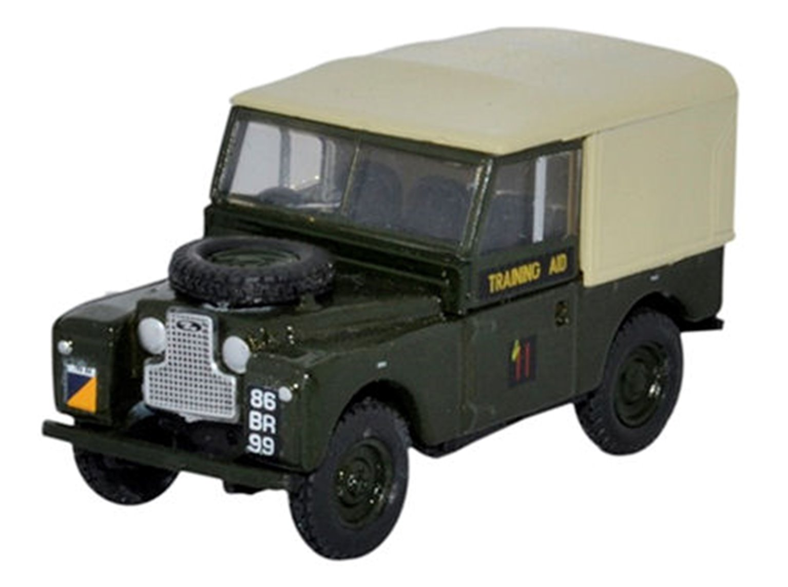 Land Rover Series 1 88 Canvas 6th Training Regiment RCT