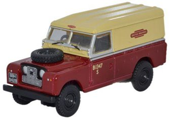 British Rail Land Rover Series II