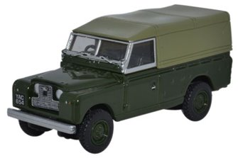 Land Rover Series II Canvas Back Bronze Green