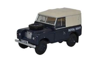 Land Rover Series III SWB Canvas Royal Navy