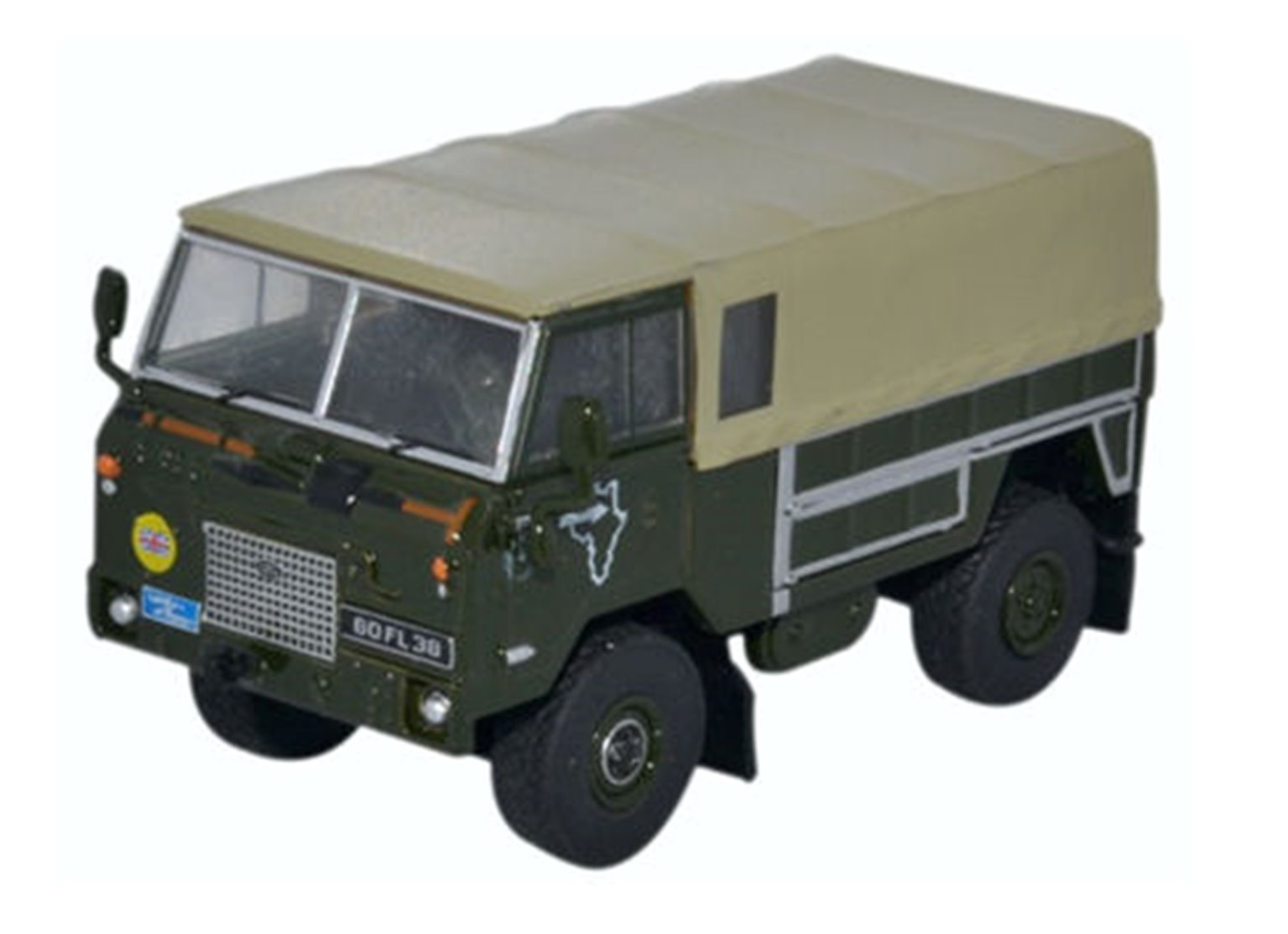 Land Rover Forward Control GS 1974 Trans Sahara Expedition