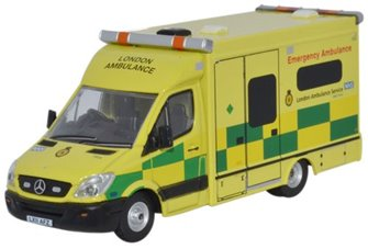 Mercedes Sprinter 515 CDi Modern Ambulance - London