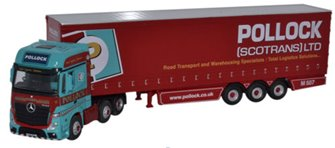 Mercedes MP4 GSC Actros Curtainside Pollock
