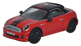 Mini Coupe Chilli Red/Black