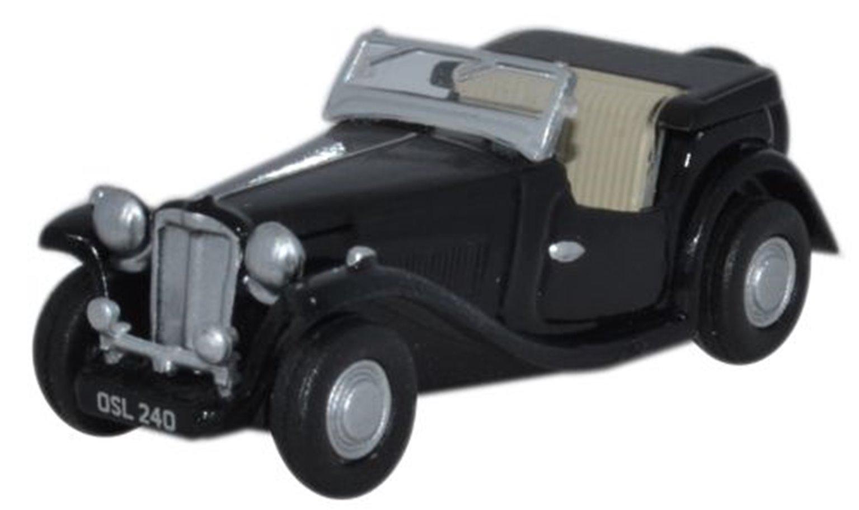 MGTC 2-door roadster in black
