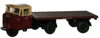 British Rail Mechanical Horse Flatbed Trailer
