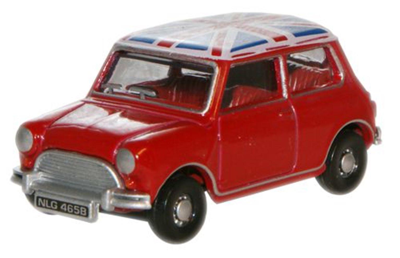 Tartan Red Union Jack Austin Mini