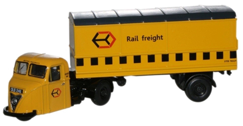 Railfreight Yellow Scammell Scarab Van Trailer