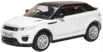 Range Rover Evoque Convertible Fuji White