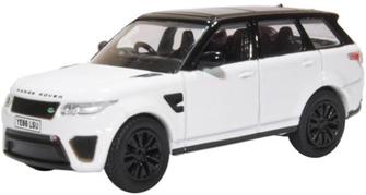Range Rover Sport SVR Fuji White