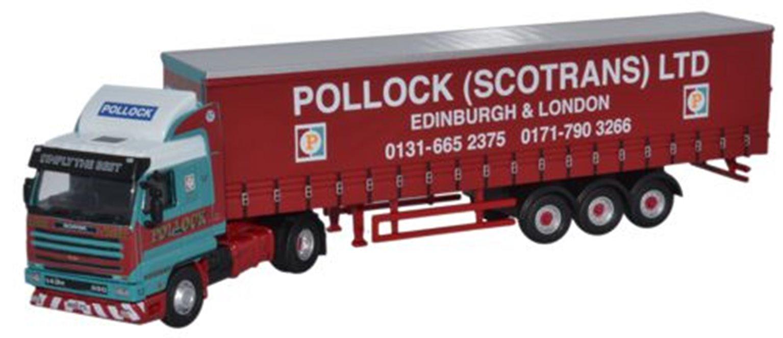 Scania 143 40ft Curtainside Pollock