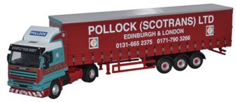 Scania 143 40ft Curtainside Pollock