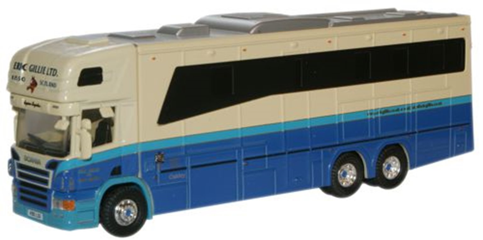 Eric Gillie Scania Horsebox