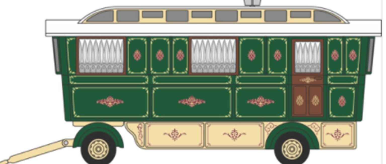 Showmans Caravan Green