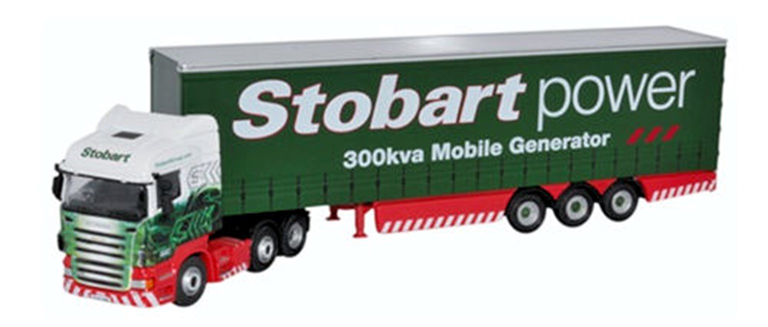Scania Highline Curtainside Stobart Power